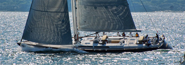 Angel wins line honors in the 2012 Newport Bermuda Race
