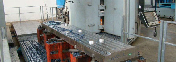 Machining begins for Zing 3 canting keel